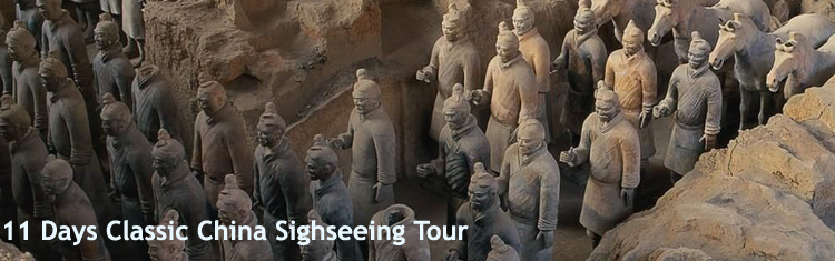 11 Day Classic China Sightseeing Tour